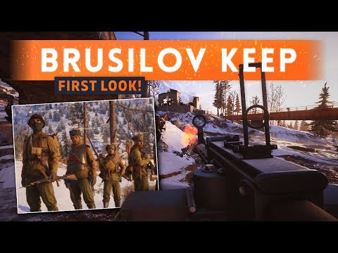 ► BRUSILOV KEEP FIRST LOOK! - Battlefield 1 In The Name Of The Tsar DLC Gameplay