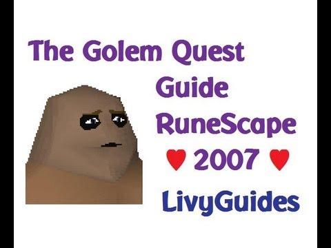 The Golem 2007 RuneScape Quest Guide ♥