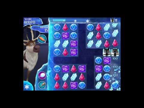 Disney Frozen Free Fall Level 99