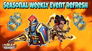 Idle Heroes (S) - Seasonal Weekly Event Refresh - 100+ Heroic Summons