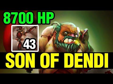 PRO PUDGE 8700 HP - SON OF DENDI - Dota 2