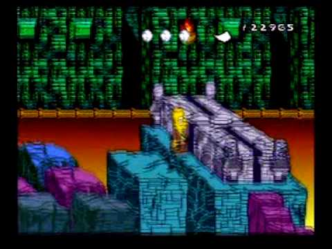 Bart's Nightmare A+ Grade Ending and Credits SNES
