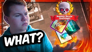 THIS IS SO GOOD! Super Fast 12 Win LIVE in Sudden Death Challenge! - Clash Royale