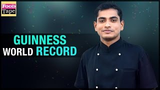 Chef Raj Mohan Guinness World Records