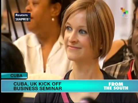 Cuba, UK Kick Off Business Seminar