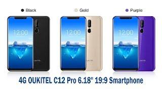 "4G OUKITEL C12 Pro 6.18"" 19:9 Smartphone"