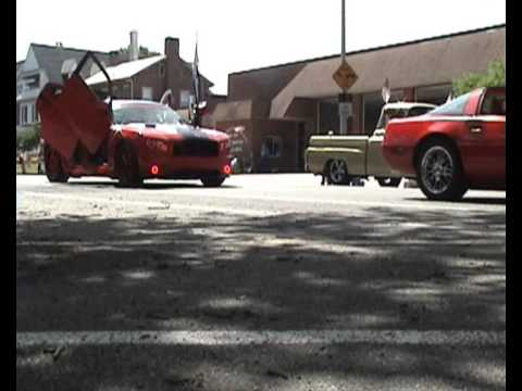 Pottstown Classic Car Club memorial day parade 2013