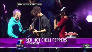 Red Hot Chili Peppers - Monarchy of Roses Otherside By the Way - Live in Argentina PEPSI MUSIC 2011