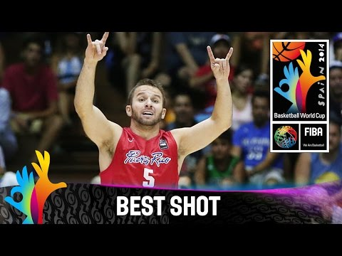 Croatia v Puerto Rico - Best Shot - 2014 FIBA Basketball World Cup
