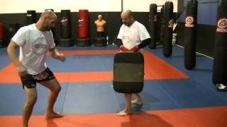 Tutorial How to do a Muay Thai Low Kick (cut kick)