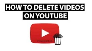 How to upload video delete on youtube