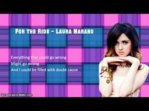 Laura Marano - For the Ride (Lyrics Video)