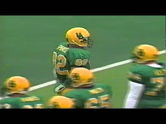 Oregon TE Blake Spence 57 yard catch vs. Utah 10-18-1997