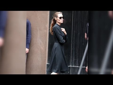 Angelina Jolie Gets to Work on Unbroken Set in Sydney