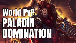 Retribution Paladin World of Warcraft Battle for Azeroth World PVP BFA 8.1 - Survival Hunters hurt!