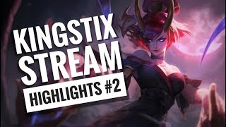 KingStix STREAM HIGHLIGHTS #2 | NA IS THE NEW LAN! | Leagueof Legends