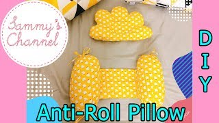 DIY - Sewing Anti-Roll Pillow For Baby | May gối chặn cho bé
