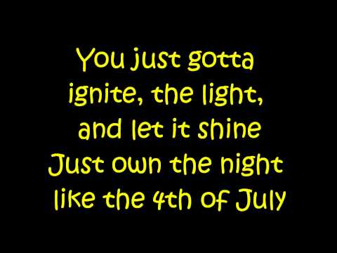 Katy Perry - Firework Letra video