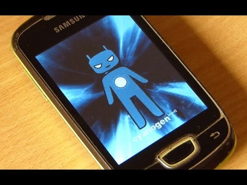 How to install Cyanogenmod 9-ICS Stable Unofficial rom on Samsung Galaxy Mini or Pop GT-S5570
