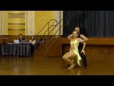 2015 Australian Bachata Championship - Pro/Am Freestyle - Nestor and Tiffany