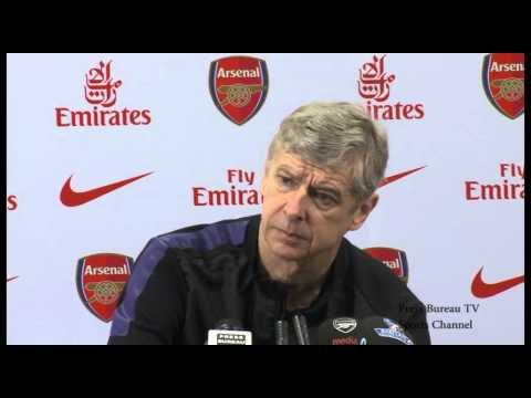 Arsene Wenger Press Conference Pre Sunderland