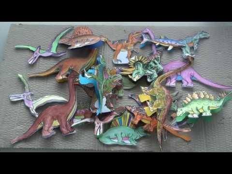 Dinozaury Dla Dzieci - Powtórka Ogólnych Wiadomości  - Cz.2