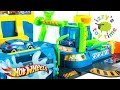 Cars for Kids | Hot Wheels Fast Lane Color Change Car Wash Pl...