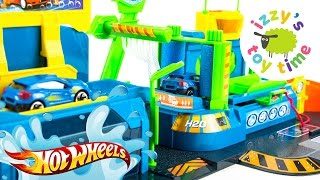Cars for Kids | Hot Wheels Fast Lane Color Change Car Wash Playset | Fun Toy Cars for Kids