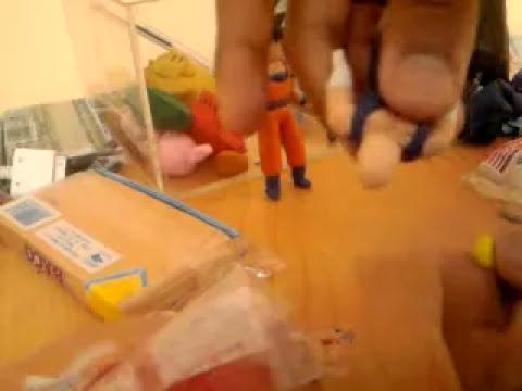 tutorial:como hacer a vegeta de plastilina