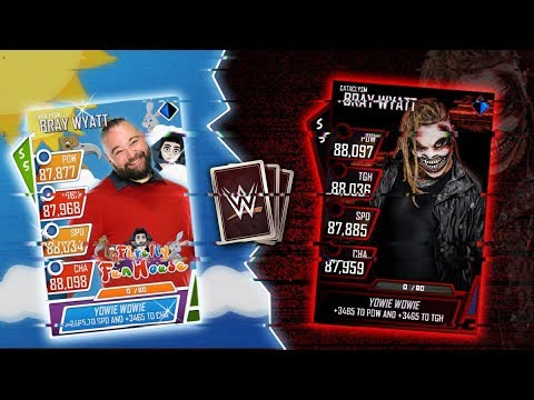 YOWIE WOWIE BRAY WYATT ROAD TO GLORY STREAM FINALE ROAD TO 17,500!!!!!! WWE Supercard