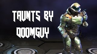 DOOM Taunts Performed by DoomGuy