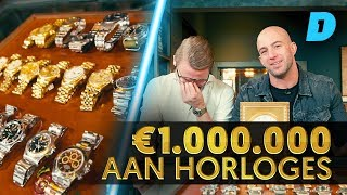 """1 MILJOEN EURO aan horloges'' // Watch This Afl. 10"