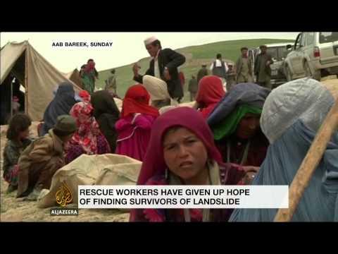 Afghan landslide victims struggle to get aid