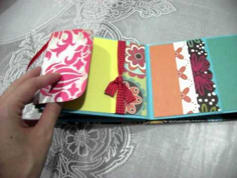Mini álbum de envelope - Scrapbooking Artesanal by Janyelle Mayara