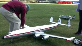 "SUPER SCALE Lockheed Super Constellation  (""Connie"") Airliner"