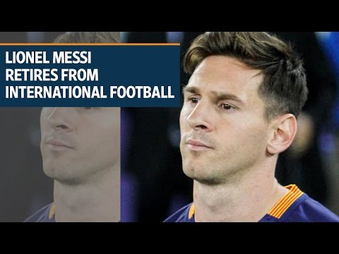 Lionel Messi Retires From International Football After Copa America Loss