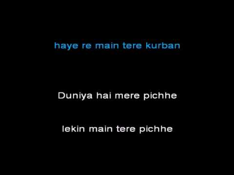 Kajra Mohabbat Wala Karaoke With Lyrics