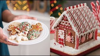 Amazing Christmas Cake Decorating Ideas Compilation - How to make Christmas Cake 2017