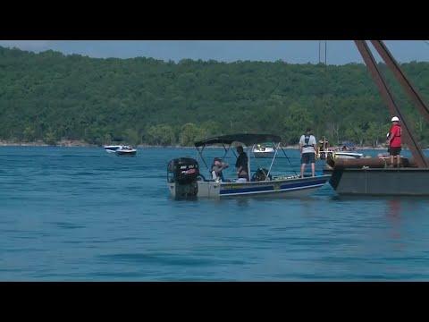 Coast Guard raises Missouri tourist boat after fatal sinking
