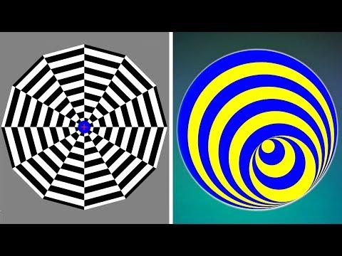 5 ОПТИЧЕСКИХ иллюзий, которые взорвут Ваш мозг