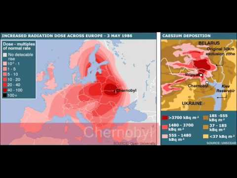 New Radiation Map From France!.wmv