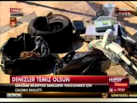 Denizden Atık Çıkaran Dalgıçlar İlginç Eşyalara Rastlıyor- Habertürk Tv