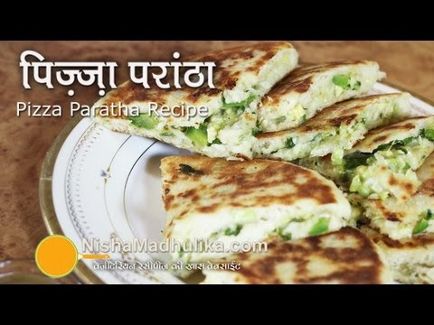 Pizza Paratha recipes | Cheese Stuffed Paratha Recipe