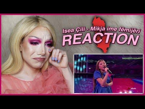 ALBANIA - Isea Çili - Mikja ime fëmijëri - LIVE | Junior Eurovision 2019 REACTION