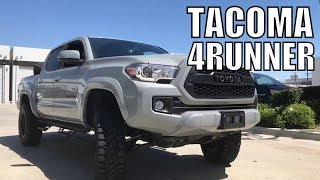 Toyota Tacoma & 4Runner Compilation Lifted on 33's