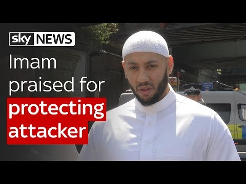 Imam praised for protecting attacker