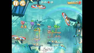 Angry Birds Level 574 3 Star Walkthrough Gameplay