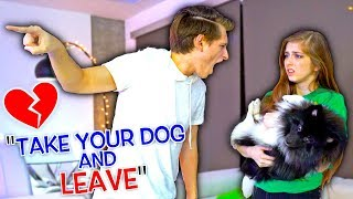 BREAK UP PRANK ON GIRLFRIEND! *SHE LEFT*