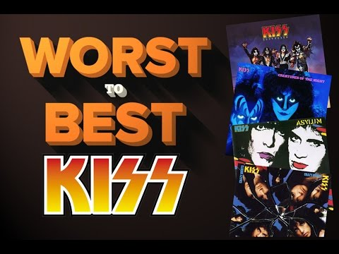 Kiss Albums - Ranked Worst To Best video