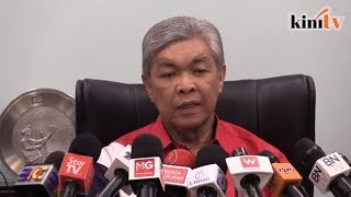 Zahid: No official letter from Gerakan